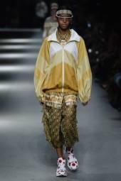 Alyssa Traore - Burberry Spring 2018 Ready-to-Wear