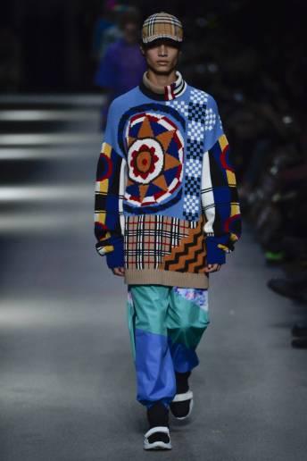 Marlon Pendlebury - Burberry Spring 2018 Ready-to-Wear