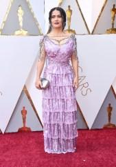 Salma Hayek - Elbise: Özel Yapım Gucci