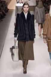 Luna Bijl - Fendi Fall 2018 Ready-to-Wear