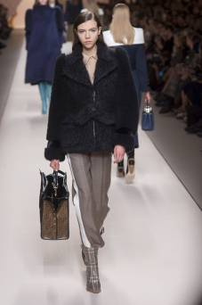 Lea Julian - Fendi Fall 2018 Ready-to-Wear