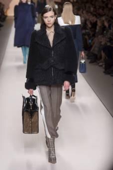 Lea Julian - Fendi Fall 2018 Ready-to-Wear