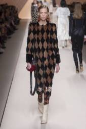 Lexi Boling - Fendi Fall 2018 Ready-to-Wear