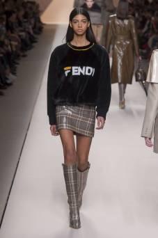 Rocio Marconi - Fendi Fall 2018 Ready-to-Wear
