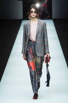 Irina Shnitman - Giorgio Armani Fall 2018 Ready-to-Wear