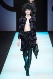 Agata Rudko - Giorgio Armani Fall 2018 Ready-to-Wear