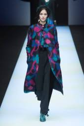 Marti Przybylska - Giorgio Armani Fall 2018 Ready-to-Wear