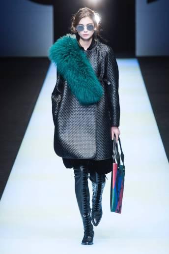 Lina Berglund - Giorgio Armani Fall 2018 Ready-to-Wear
