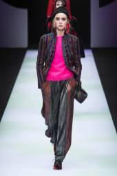 Beatrice Cabrini - Giorgio Armani Fall 2018 Ready-to-Wear