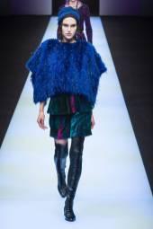 Anastasia Kuznetsova - Giorgio Armani Fall 2018 Ready-to-Wear