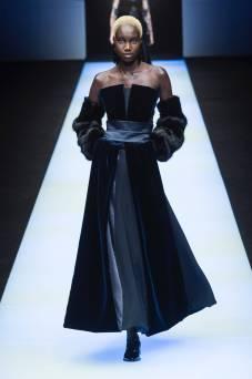 Nya Gatbel - Giorgio Armani Fall 2018 Ready-to-Wear