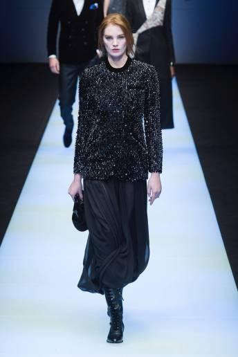 Alexina Graham - Giorgio Armani Fall 2018 Ready-to-Wear