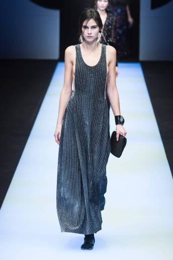 Martina J - Giorgio Armani Fall 2018 Ready-to-Wear