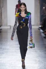 Kaia Gerber - Versace Fall 2018 Ready-to-Wear