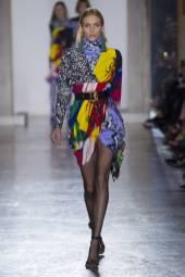 Anja Rubik - Versace Fall 2018 Ready-to-Wear
