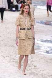 Rianne Van Rompaey - Chanel Spring 2019 Ready-to-Wear