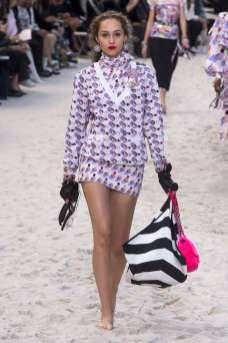 Michelle Gutknecht - Chanel Spring 2019 Ready-to-Wear