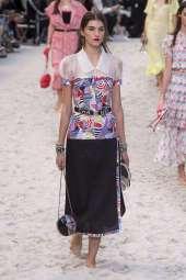 Irina Djuranovic - Chanel Spring 2019 Ready-to-Wear