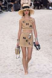 Giselle Norman - Chanel Spring 2019 Ready-to-Wear