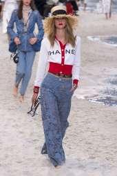 Lauren de Graaf - Chanel Spring 2019 Ready-to-Wear
