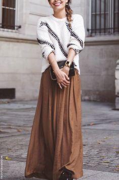 Maksi Elbiseler Kışın Nasıl Kombinlenir