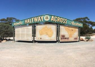 Half Way across Australia
