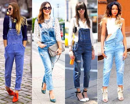 Macacão Jeans Curto E Longo, No Verão E No Inverno, Saiba Como Usar