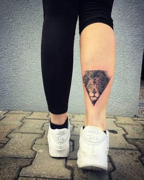 Fotos De Tatuajes De León Y Leona Para Mujer Cuál Es El Significado