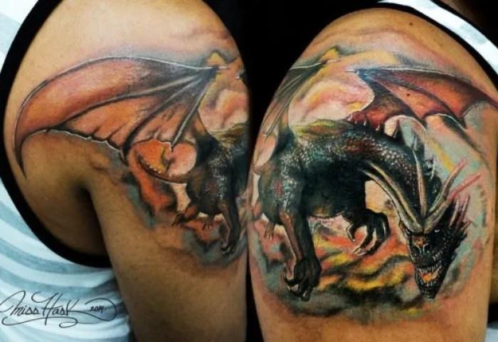 Los Mejores Diseños De Tatuajes De Dragones 2019 Modaellascom