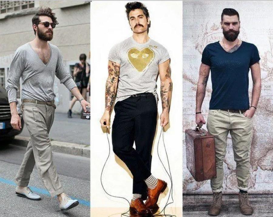 hombres estilo hipster www.aretesparahombres.com