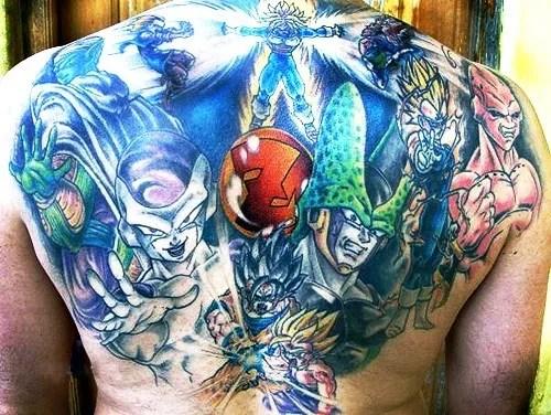 Los Mejores Tatuajes De Dragon Ball Z Modaelloscom