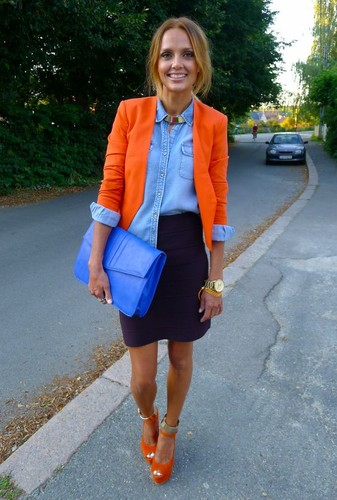Como combinar cor de laranja - Nível Avançado 6