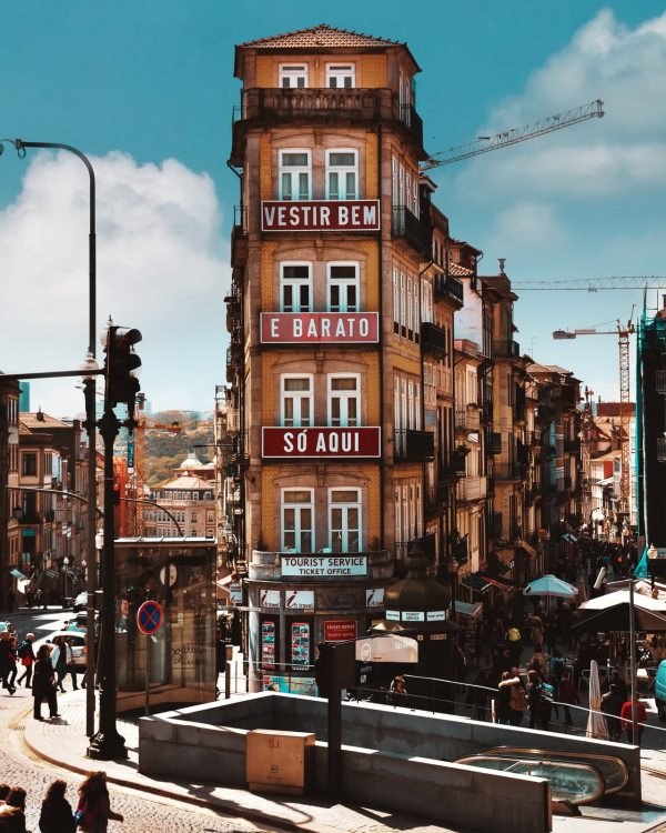 Vestir bem e barato no Porto