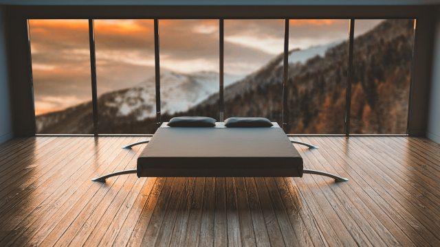 A posição da cama é muito importante para adquirir o resultado pretendido