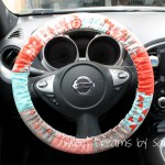 30 Minute Gift Padded Steering Wheel Cover Modafabrics