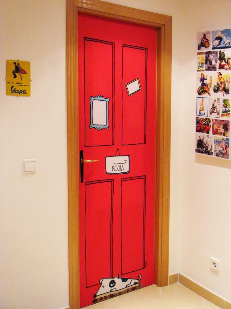 Tendencia puertas decoradas y de color  Moda de Hoy