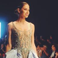 La propuesta de la invitada al Fashion Week: Federica Balestra.