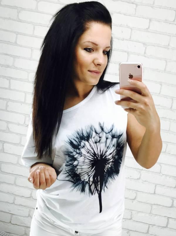 T-shirt Diente biały