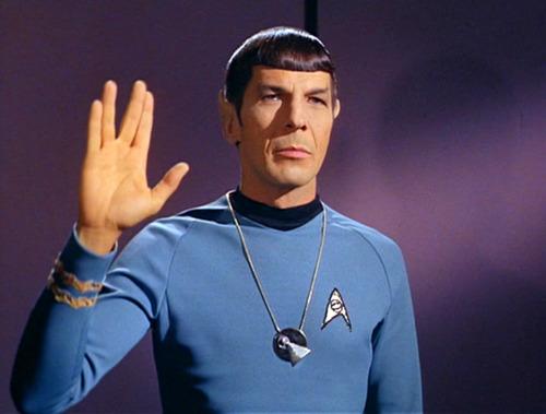 Mr Spock Leonard Nimoy
