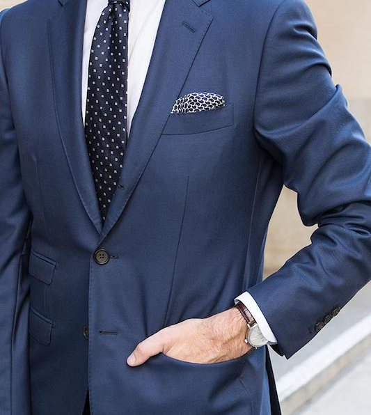 5 Gravata Azul