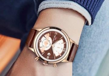 Murray leather relógio