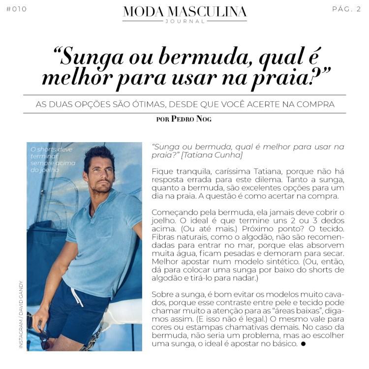 Moda Masculina Journal #010 Moda Masculina Journal #010