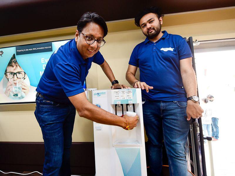 Expo 2020 Dubai : Вода од воздух !