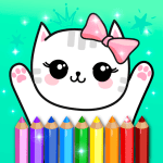 Coloring Pages Kids Games with Animation Effects 5.1 Mod Download – for android