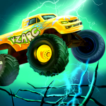Mad Truck 2 — physics monster truck hit zombie 3.71.15 Mod Download – for android