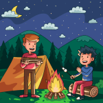 Family Fun Camping Day – Road Trip 5 Mod Download – for android