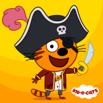 Kid-E-Cats: Pirate treasures. Adventure for kids 1.2.8 Mod Apk(unlimited money)download