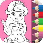 Princess Coloring Book 1.4.8 Mod Download – for android