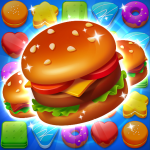 Cooking Crush Legend – Free New Match 3 Puzzle Mod Apk 1.1.2 Unlimited money– for android