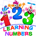 Learning numbers for kids! Writing Counting Games! 2.0.2.5 Mod Apk(unlimited money) download